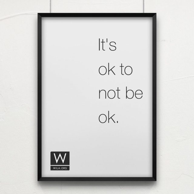 Its ok to not be ok especially if you havehellip
